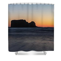 Second Beach Shower Curtain
