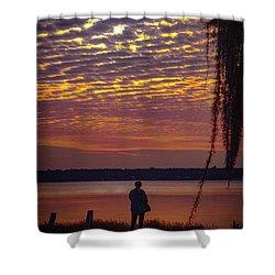 Starke Sunset Shower Curtain