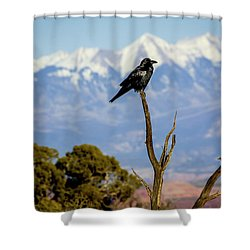 Shower Curtain featuring the photograph Winter Is Coming by David Morefield