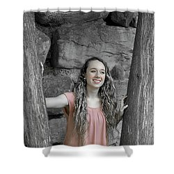 10be Shower Curtain
