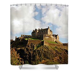 19/08/13 Edinburgh, The Castle. Shower Curtain