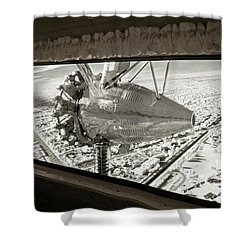 1928 Ford Tri-motor Shower Curtain