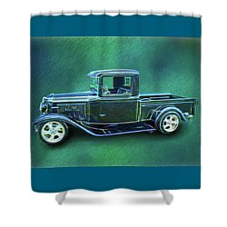 1934 Ford Pickup Shower Curtain