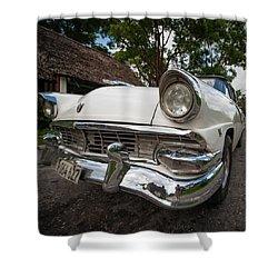 1953 Cuba Classic Shower Curtain