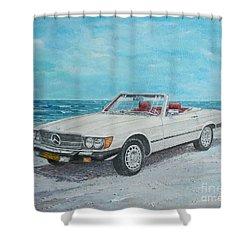 1979 Mercedes 450 Sl Shower Curtain