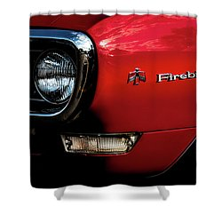 Shower Curtain featuring the photograph 1st Generation Firebird by Onyonet  Photo Studios