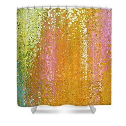 Shower Curtain featuring the painting 2 Corinthians 9 15. His Indescribable Gift by Mark Lawrence
