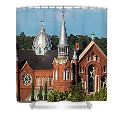 Sacred Heart Cultural Center - Augusta Ga Shower Curtain