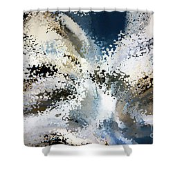 2 Samuel 7 22 There Is None Like You Lord God Shower Curtain