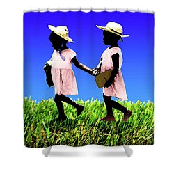 2 Sisters Shower Curtain