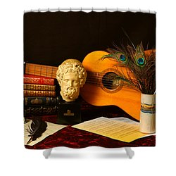 The Arts Shower Curtain