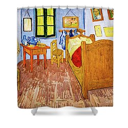 Van Gogh's Bedroom At Arles Shower Curtain