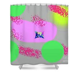 3-18-2009abcdefghijklmnopq Shower Curtain