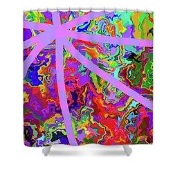 3-26-2010wabcdefghijklmnopqr Shower Curtain