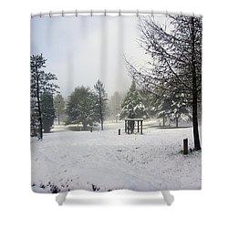 30/01/19  Rivington. Memorial Arboretum. Shower Curtain
