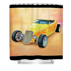 33 Speedstar Shower Curtain
