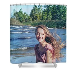 3BE Shower Curtain