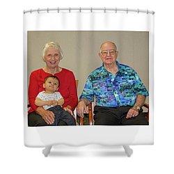 Family Portrait Shower Curtain
