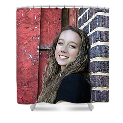 4aee Shower Curtain