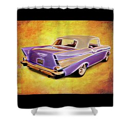 57 Droptop Shower Curtain