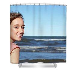 6AE Shower Curtain