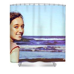 6DE Shower Curtain