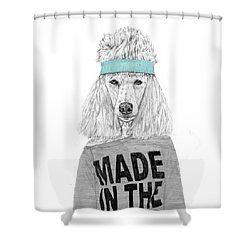 80's Bitch Shower Curtain