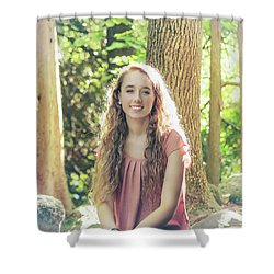8BE Shower Curtain