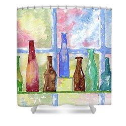 99 Bottles Shower Curtain