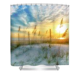 A Beach Dream Shower Curtain