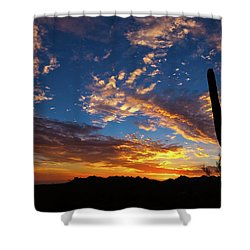 Shower Curtain featuring the photograph A Blanket Of Many Colors by Rick Furmanek