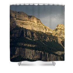 Shower Curtain featuring the photograph A Blast Of Light by Stephen Taylor