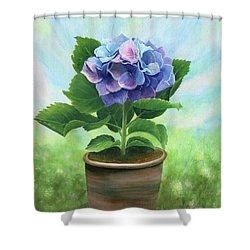 A Gift To My Angel Shower Curtain