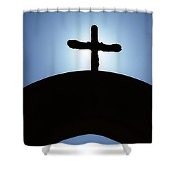 Shower Curtain featuring the photograph A Light From Above by Kay Brewer