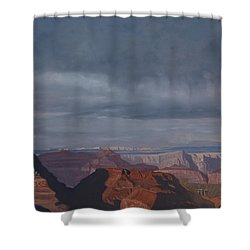 A Little Rain Over The Canyon Shower Curtain
