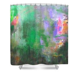 A Matter Of Balance Shower Curtain