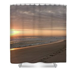 Shower Curtain featuring the photograph A New Day by John M Bailey
