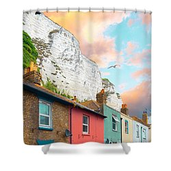 A Perfect Day Shower Curtain