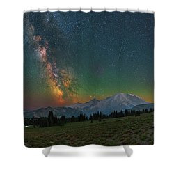 A Perfect Night Shower Curtain