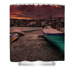 A Quiet Moment - Cornwall Shower Curtain
