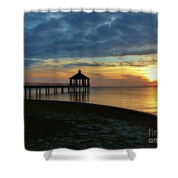A Sense Of Place Shower Curtain