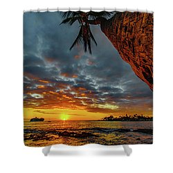 A Typical Wednesday Sunset Shower Curtain