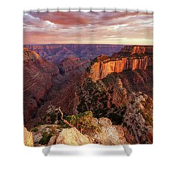 A View From Cape Royal Shower Curtain