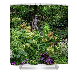 Shower Curtain featuring the photograph A Walk In The Garden by Dale Kincaid