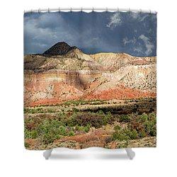 Abiquiu Country  Shower Curtain