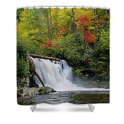 Abrams Falls Shower Curtain
