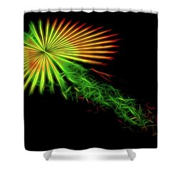 Abstract 47 Shower Curtain