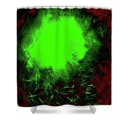 Abstract 52 Shower Curtain