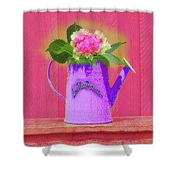 Abstract Floral Art 342 Shower Curtain