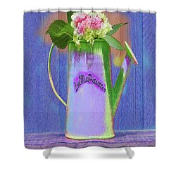 Abstract Floral Art 343 Shower Curtain